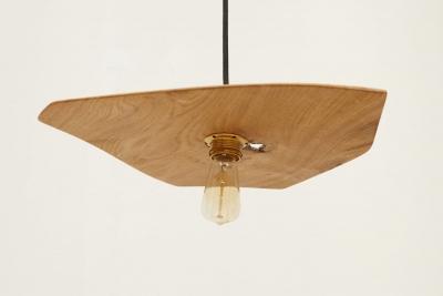 Verschnitt – Lampe – Eichenholz – Maßanfertigung