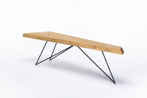 Couchtisch – Verschnitt – Eichenholz – Produktansicht
