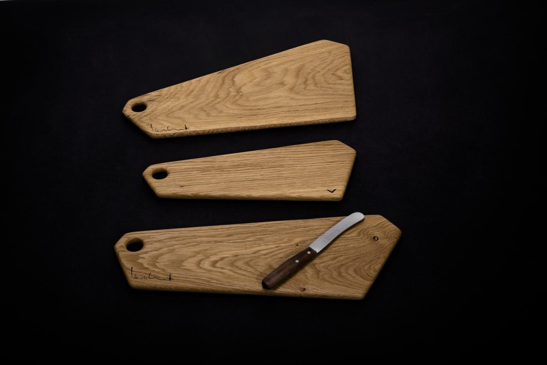 Brettchen Eichenholz – Verschnitt – Produktansicht