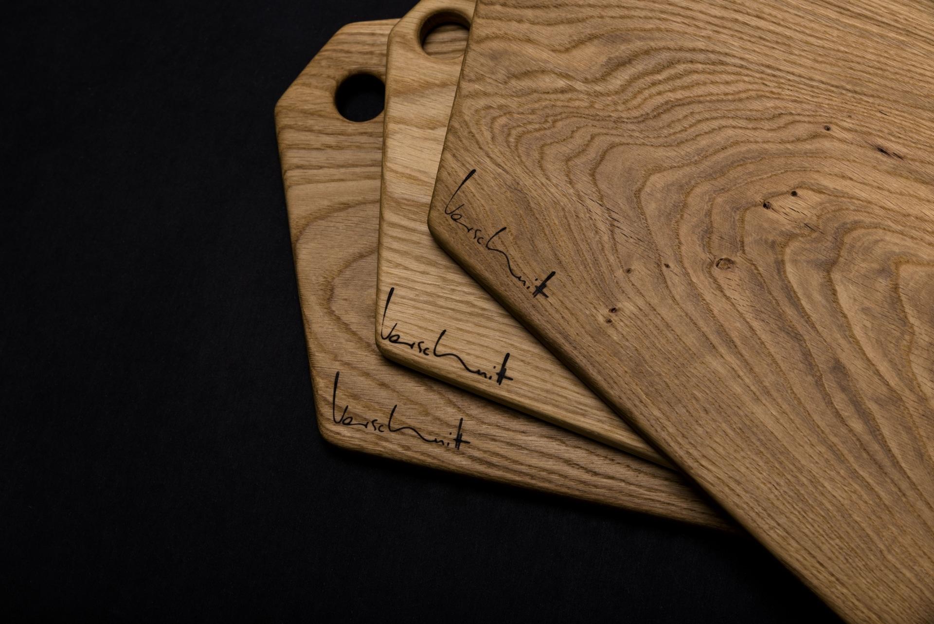 Brettchen Eichenholz – Verschnitt – Detailansicht