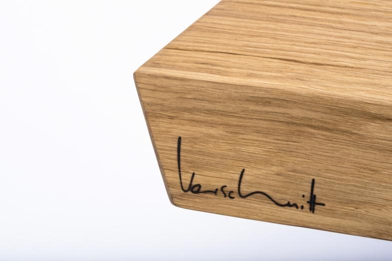 Couchtisch – Verschnitt – Eichenholz – Detailansicht