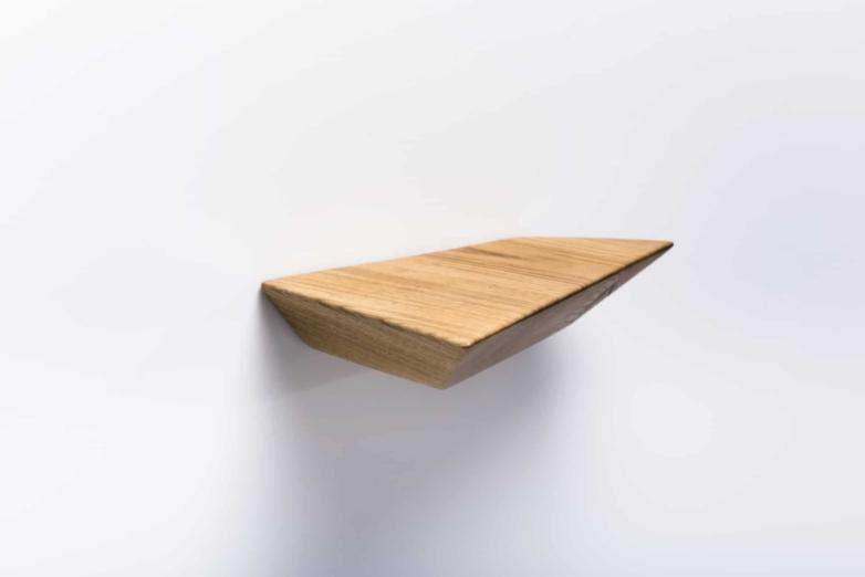 Wandregal S aus Eichenholz | Verschnitt Manufaktur für nachhaltige Holzmöbel