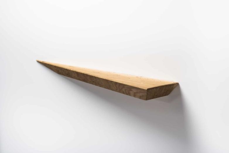 Wandregal M aus Eichenholz | Verschnitt Manufaktur für nachhaltige Holzmöbel