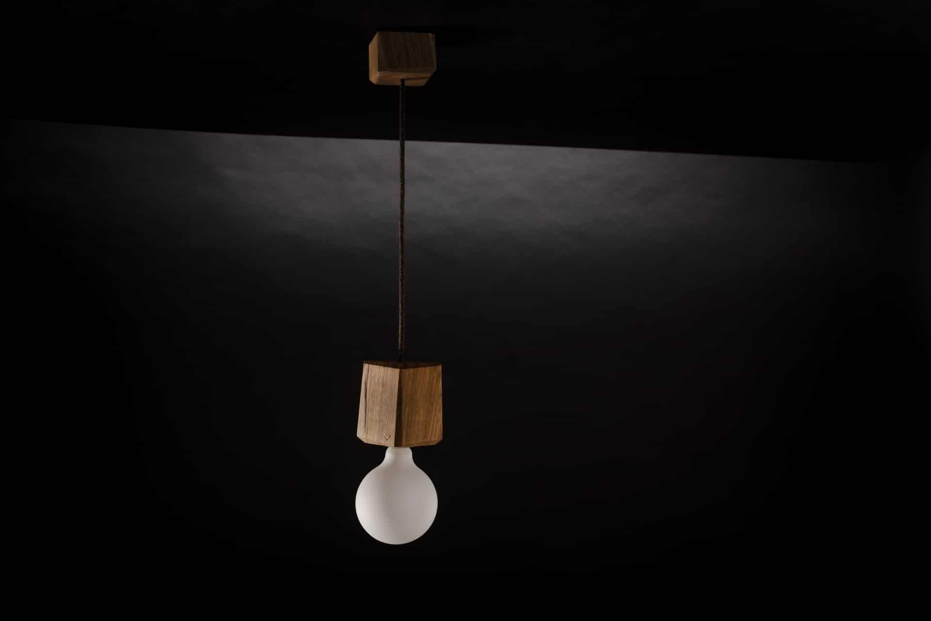 Hängeleuchte – Kubusleuchte – Produktansicht