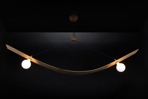 Hängeleuchte – Bogenlampe – Produktansicht